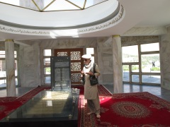 Ahmad Shah Massoud's Tomb - Panjshir Valley, Afghanistan - September 2012