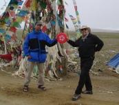 Frisbee in Tibet - 2007