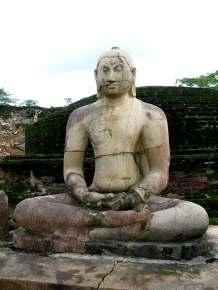 Meditating Buddha - Polonnaruva