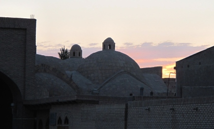 Sunset over the Covered Bazaar - Bokhara