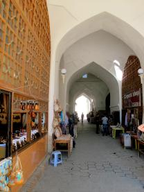 The Covered Bazaar - Bokhara