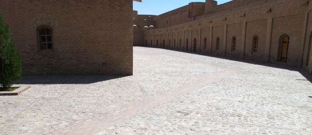 Inner Courtyard - Citadel of Herat