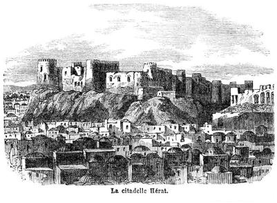 Lithograph - Citadel of Herat