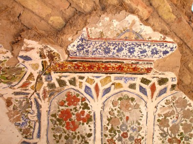 Painting in the Hammam - Citadel of Herat - 2006
