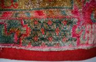 Silk Tibetan Saddle Carpet
