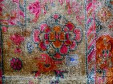 Silk Tibetan Saddle Carpet