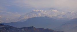 Mountains from Pokhara