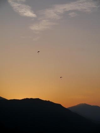 Para-gliders, Pokhara