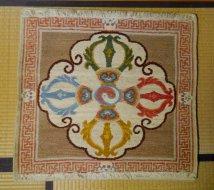 Double Dorje Meditation Carpet