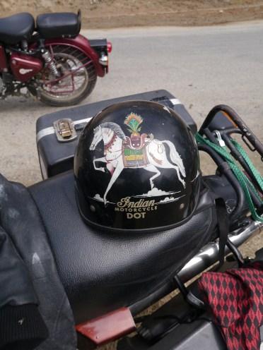 Charle's helmet