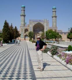 Steve in Herat - 2006