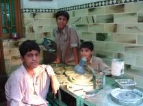Boys cutting gemstones - Peshawar
