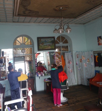 Barber Shop - Old Town - Cuenca