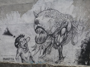 Graffiti - Quito, Ecuador