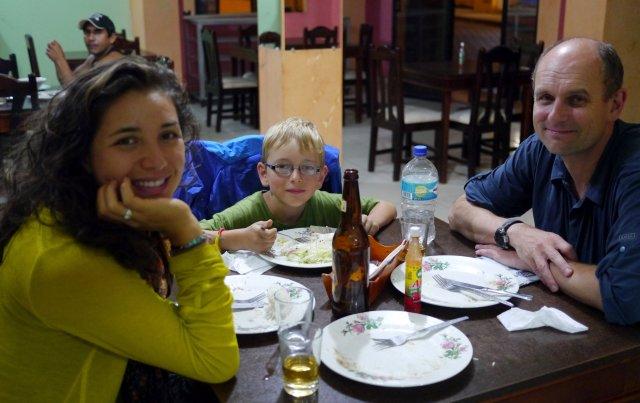 Reika, Heiko, and Eric