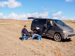 Lunch Stop - Gobi-style