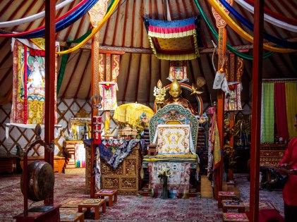 Ger Temple - Inside