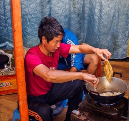 Mongolian Fry Bread