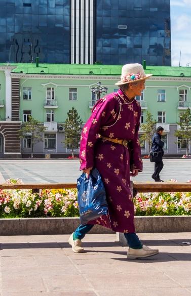 Chinggis Khaan Square, UB