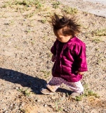 Mongolian Toddler