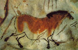cave painting horse