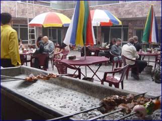 BBQ at the Mustafa Hotel