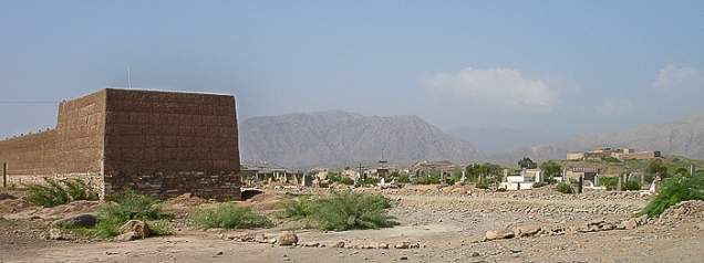Village in the Khyber Pass