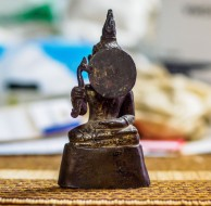 Bronze Seated Buddha - Laotian, 18th-19th Century