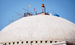 Boudha Stupa - Post-Quake