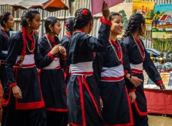 School parade, Kathmandu - 2017
