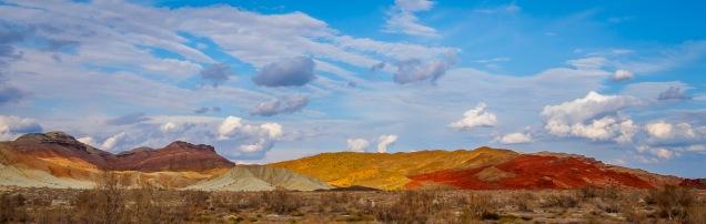 Aktau Katutau Hills - Altyn Emel National Park