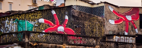 Graffiti Fingers- Phnom Penh - April 2018