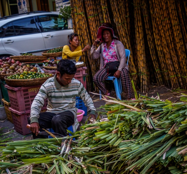 Sugar Cane - Phnom Penh - April 2018